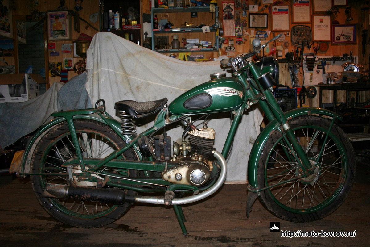 Мотоцикл «К-125М» | Мото-Ковров