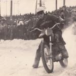 Победитель 9-го зимнего мотокросса в классе 175 см. Яковлев А.Д.