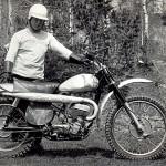 Яковлев А.Д.1965 г. Вес мотоцикла 77 кг. в заправленом состоянии.