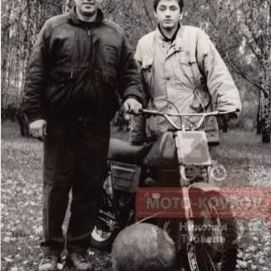 Александ Царёв с сыном Владимиром