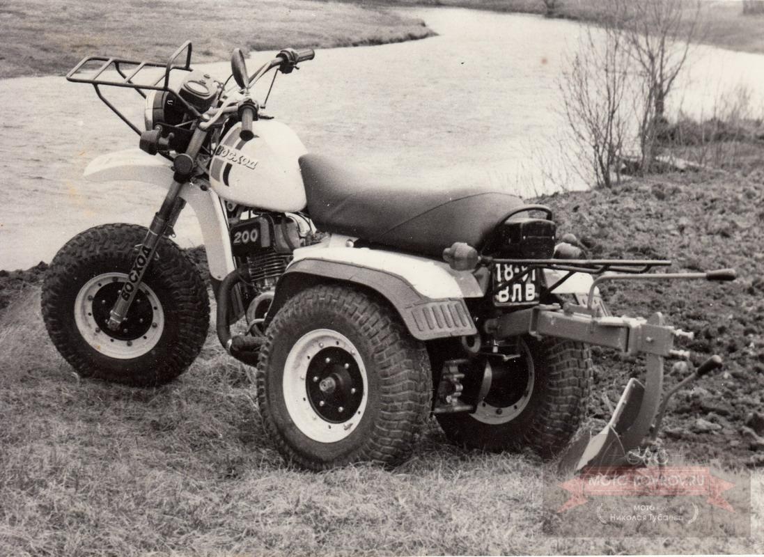 Восход-200 3ШП. Собран один мотоцикл.