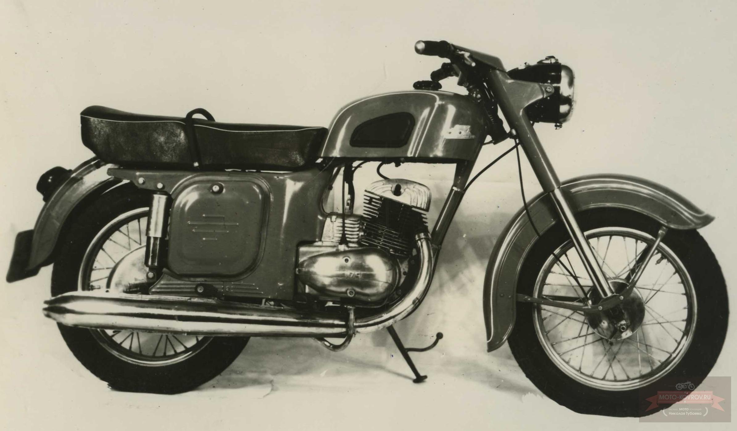 Ковровец-175В опытный образец дорожного мотоцикла