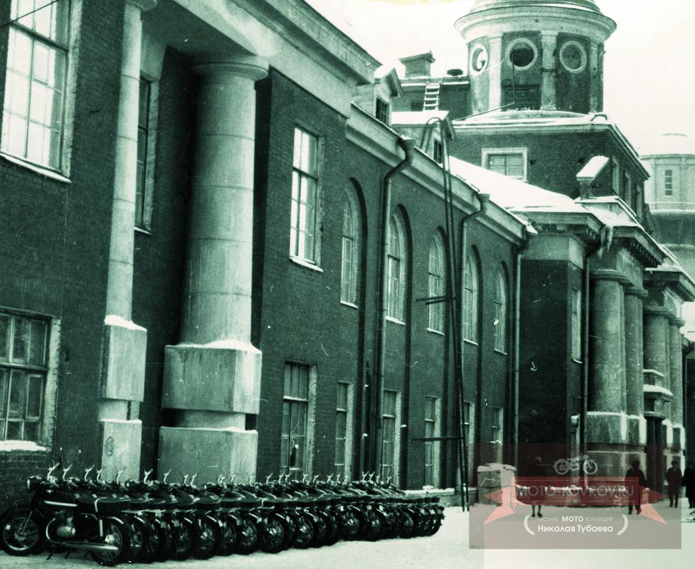 Административный корпус 1968 год