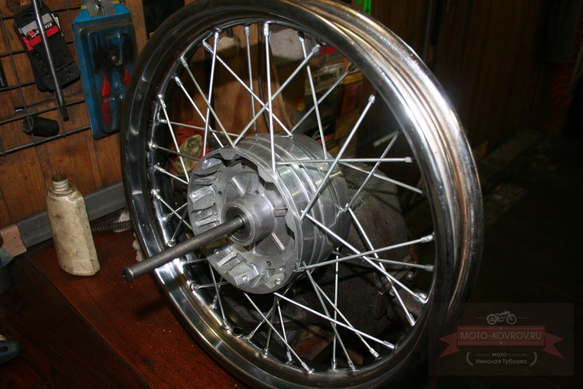 Сборка колеса