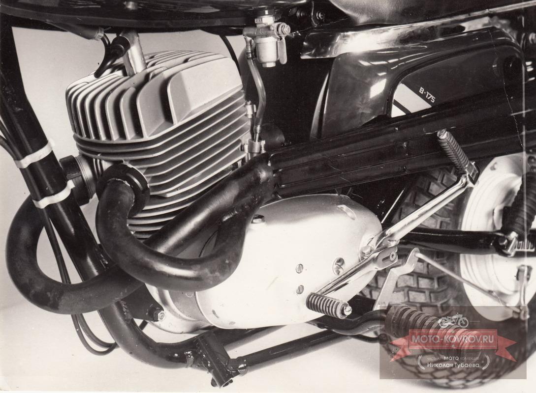 Двигатель 175ШПШ