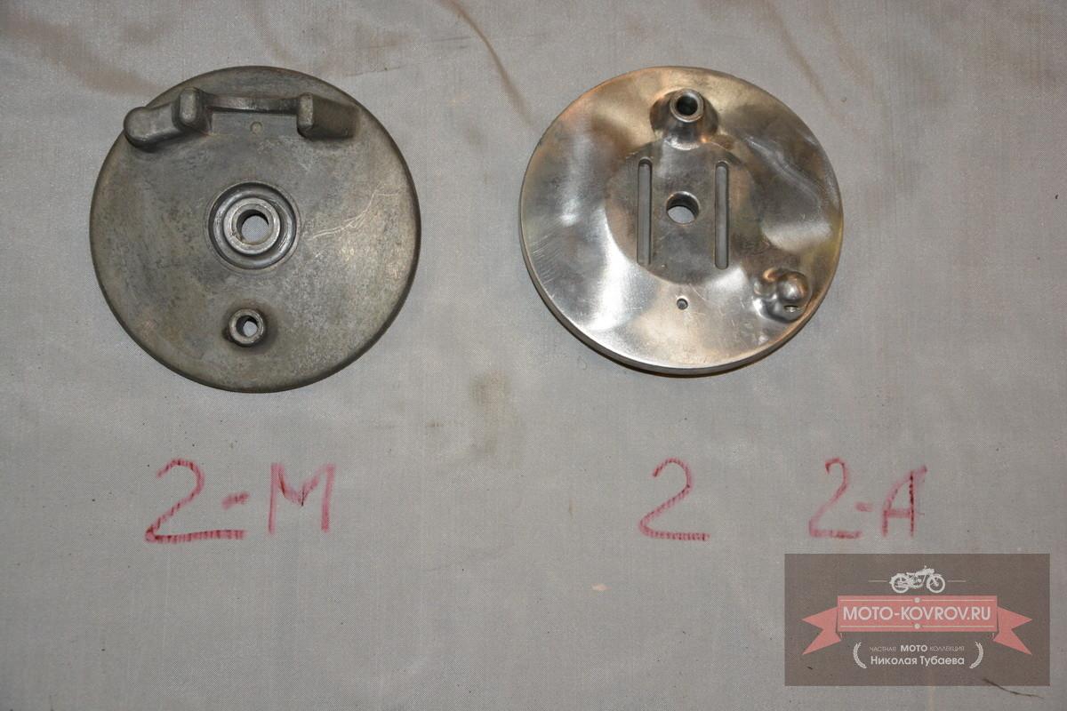 Основание передних тормозных колодлк