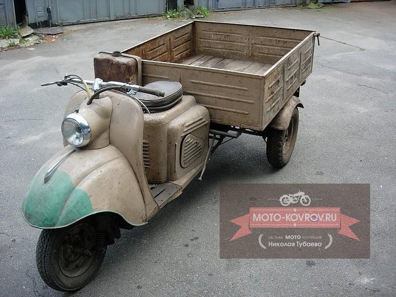 Грузовой мотороллер ТГ-200