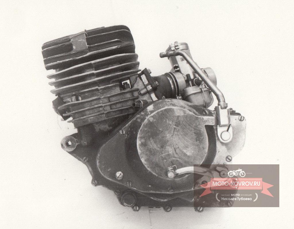 Двигатель СК-6 слева