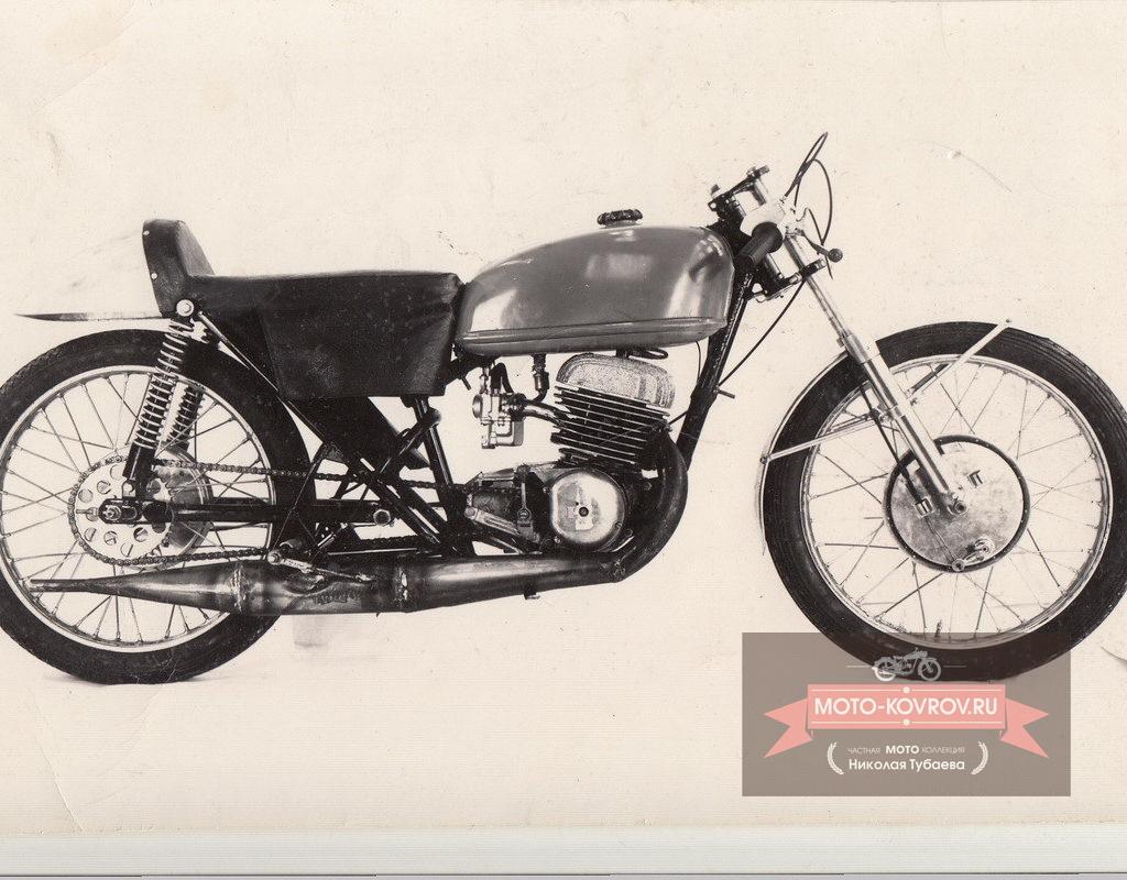 Опытный образец мотоцикла Восход-175ШК-2