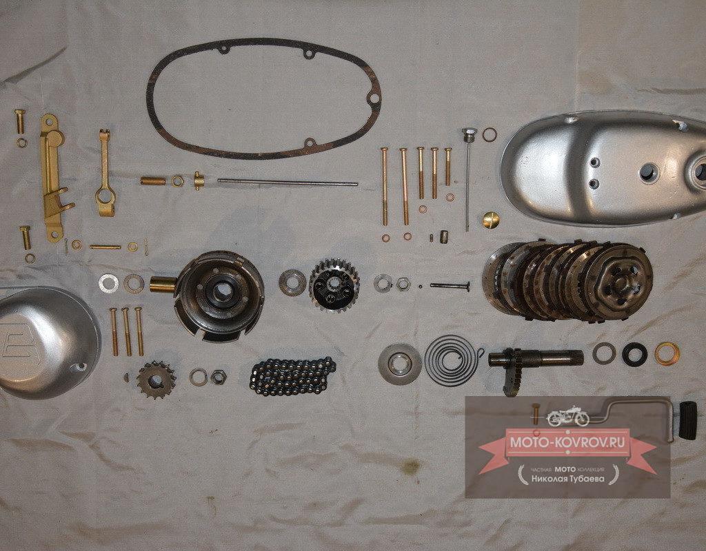 Сцепление и крышки двигателя